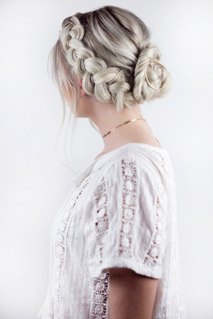 Braided Twist Updo - From Texas with Love by Sara Rash