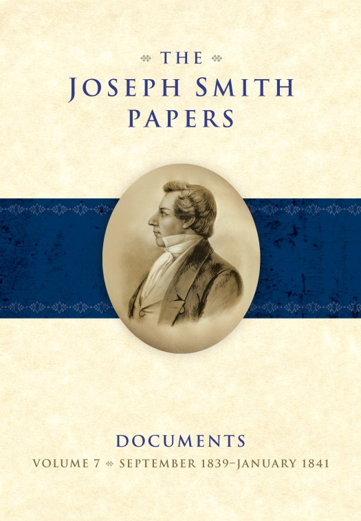 "An image of the book cover of ""The Joseph Smith Papers, Revelations and Translations, Vol. 4: Book of Abraham and Related Manuscripts."""