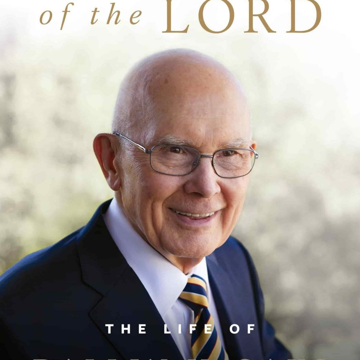 The book cover of In the Hands of the Lord, the BIography of Dallin H. Oaks
