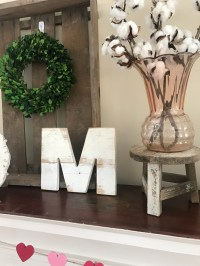 Winter to Spring Mantel: Farmhouse and Succulents - From ...