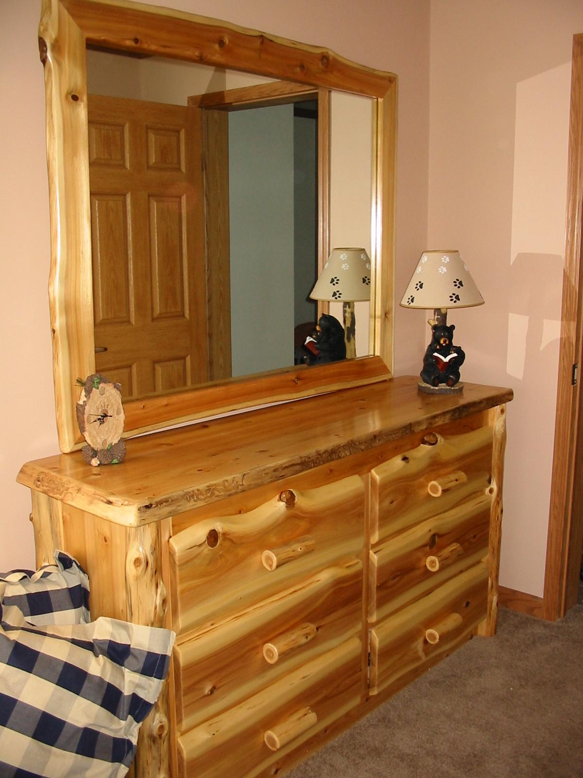 6 Drawer Long Dresser
