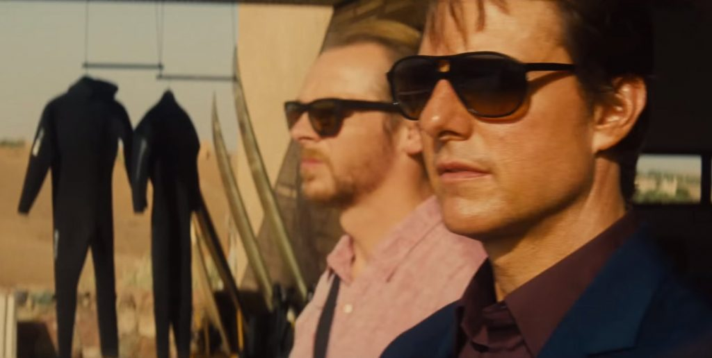 Dolce & Gabbana sunglasses in Mission Impossible