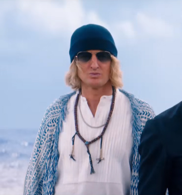 Sunglasses Owen Wilson in Zoolander 2 (2016)