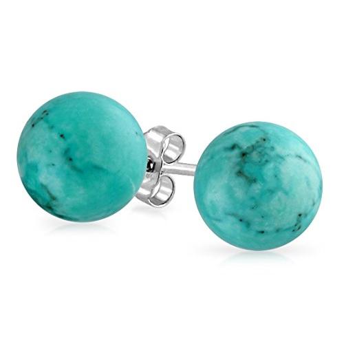 Turquoise Ball Earrings Emma Stone in La La Land (2016)