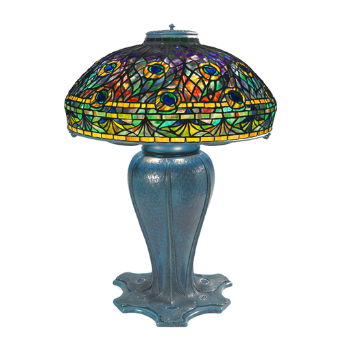 Tiffany Peacock Lamp in 100 Streets (2016)
