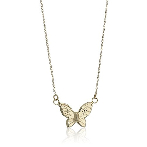 Butterfly pendant necklace Ryan Simpkins in The House (2017)
