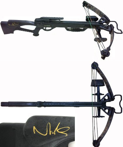 Daryl Dixon's crossbow in The Walking Dead