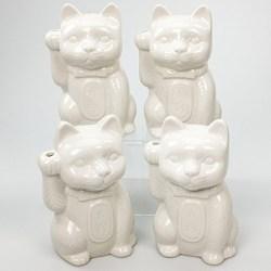 Neko Lucky Cat Ceramic Tiki Mug in Landline (2017)