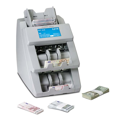 Money counting machine in Good Time (2017)