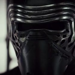 Mask Adam Driver (Kylo Ren) in Star Wars: The Last Jedi (2017)