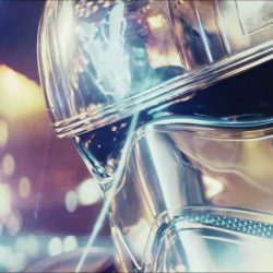 Mask Gwendoline Christie (Captain Phasma) in Star Wars: The Last Jedi (2017)
