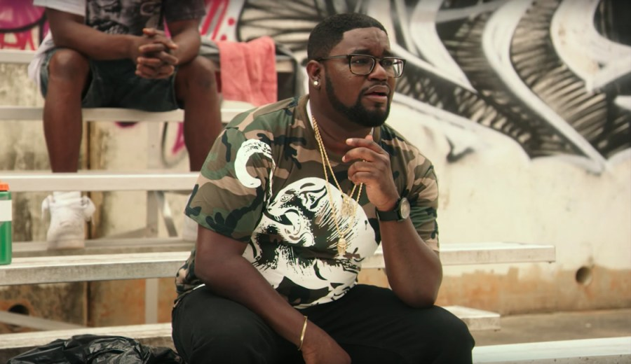 Camouflage panther t-shirt LilRel Howery in Uncle Drew (2018)