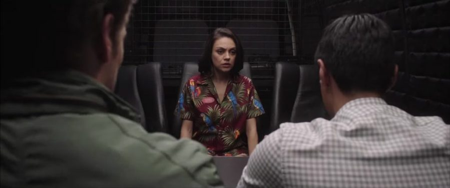 Parrots Hawaiian Shirt Mila Kunis in The Spy Who Dumped Me (2018)