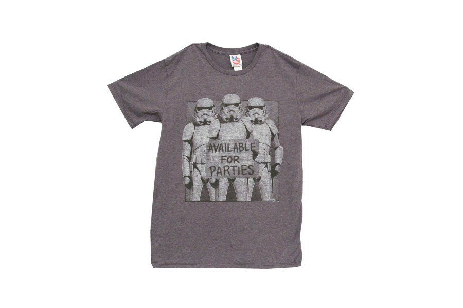 Star Wars Stormtroopers Available for Parties Vintage Inspired T-Shirt