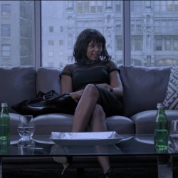 Black Dress Taraji P. Henson in Acrimony (2018)