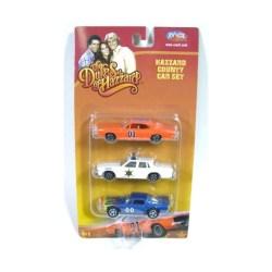 Dukes of Hazzard 1:64 scale 3 car set