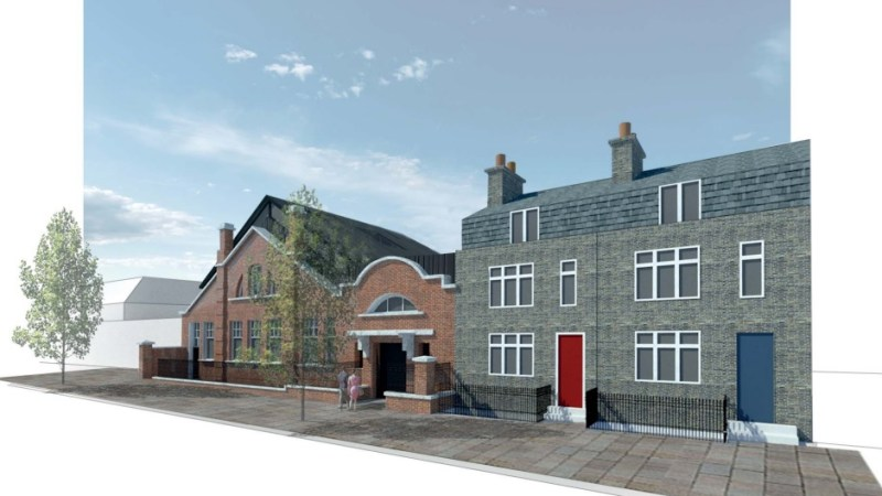 Flats plan for Greenwich sorting office
