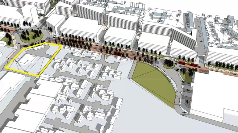 New 20-storey tower proposed in Abbey Wood at vet surgery site