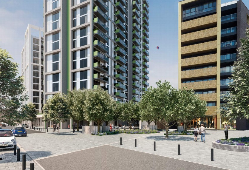 Abbey Wood tower plans revised in new design