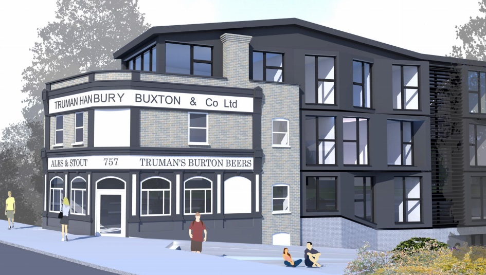 Plans for housing at Victoria pub site in Charlton