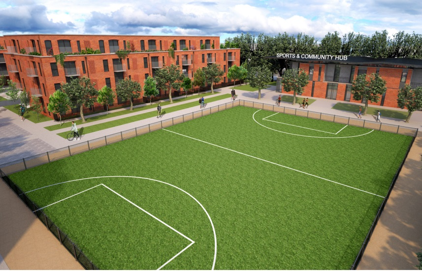240 new homes in Slade Green on former football ground – plans submitted