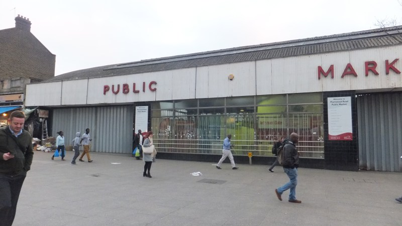 Woolwich indoor market to live again?