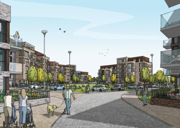 Erith estate rebuild plan shown to public
