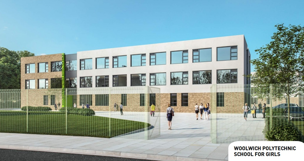Woolwich Poly school for girls opens next week