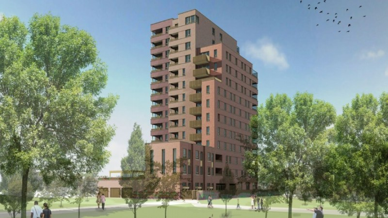 North Woolwich as the next big growth area? Another housing block proposed