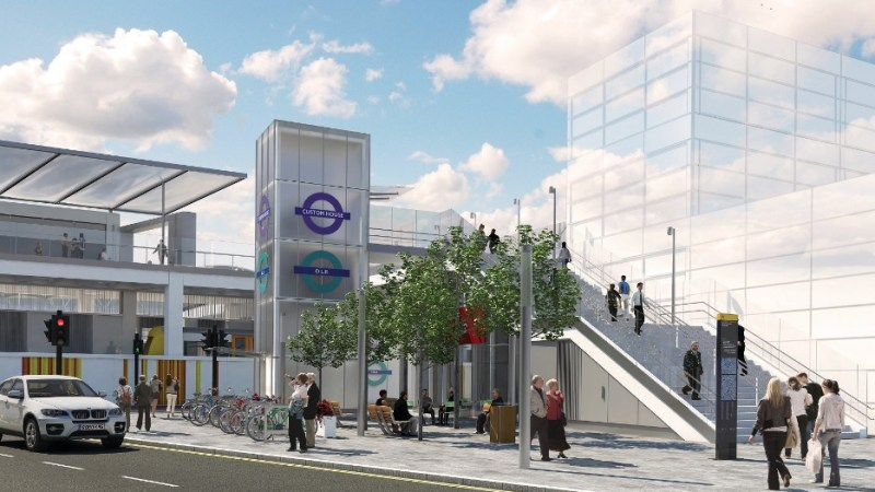 Crossrail passes another milestone as Custom House station reopens