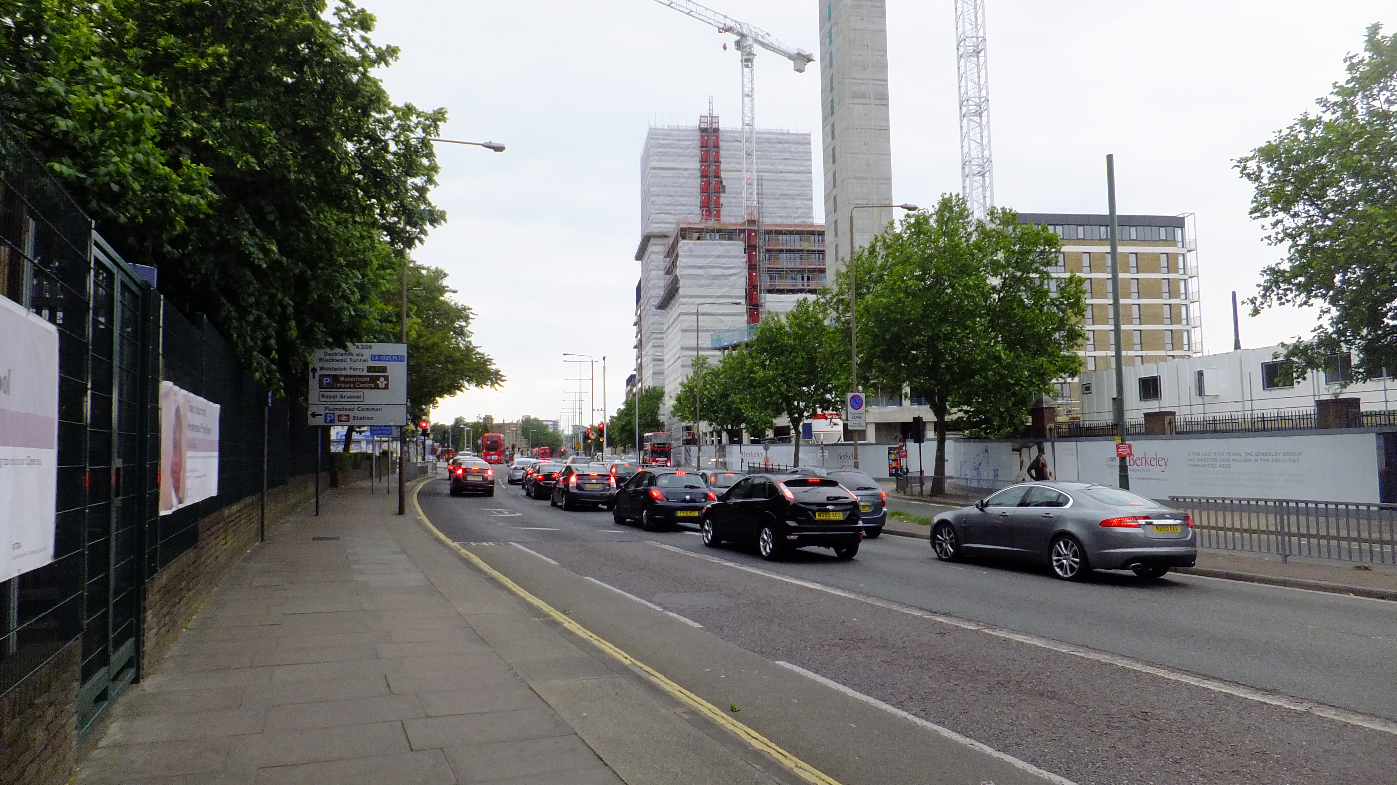 Parking zone to be expanded in Woolwich