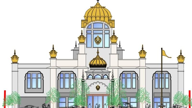 Lavish new temple planned in Belvedere