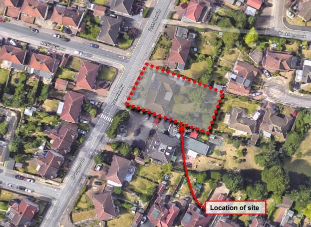Bexleyheath bungalow to block of flats? Plans in