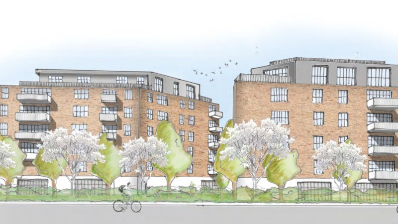 69 more flats and Lidl planned at Belvedere development beside Starbucks, Morgan pub and Travelodge