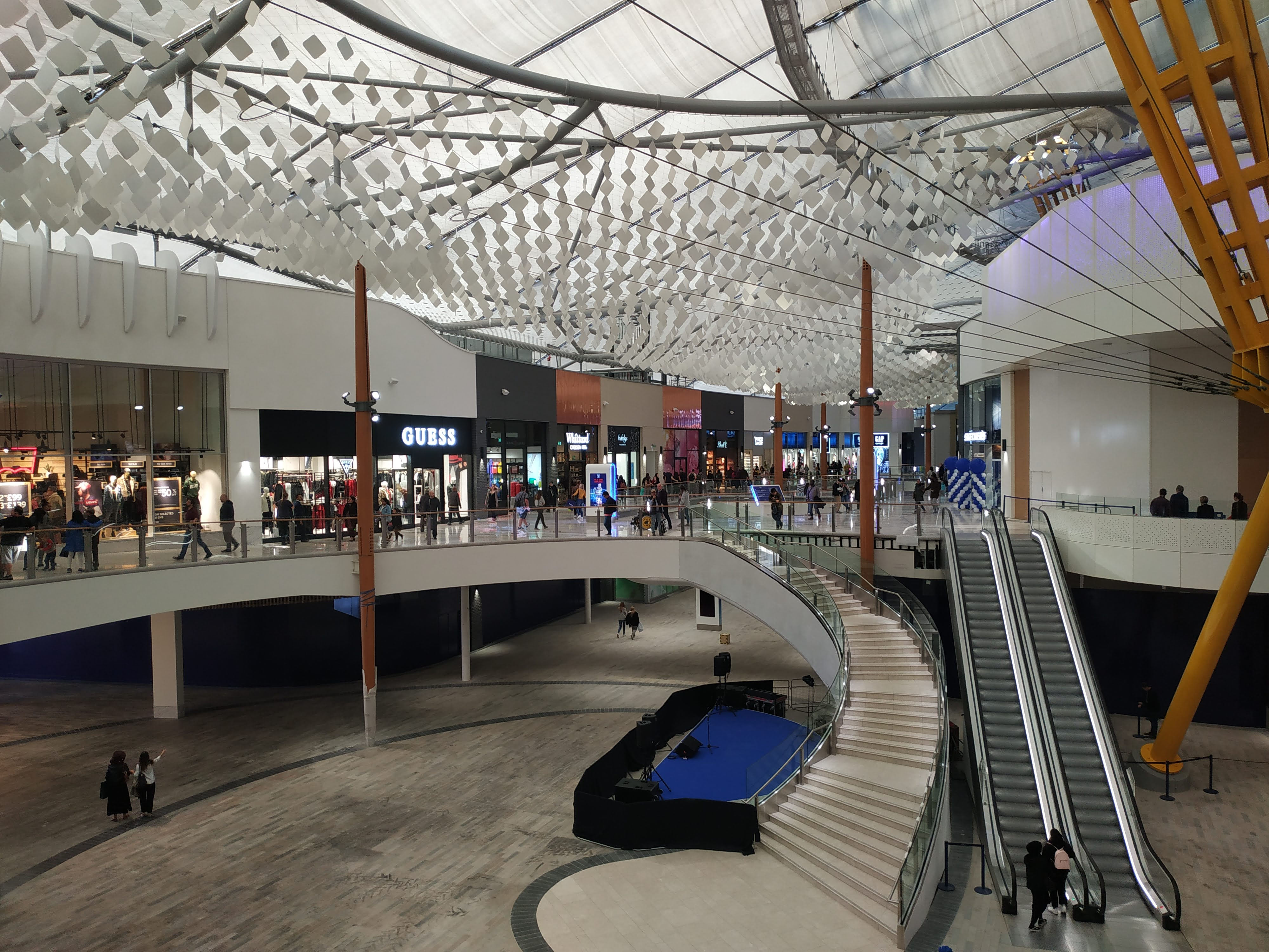 A trip to Greenwich's new outlet shopping centre Icon at the O2