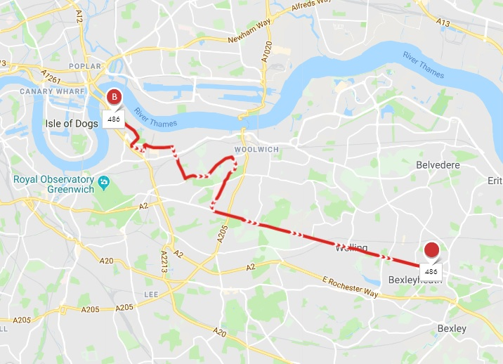 Is the 486 bus the next North Greenwich cut back?