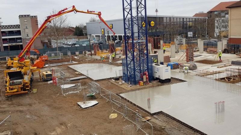 Concrete laid as 500+ home Bexleyheath development rises
