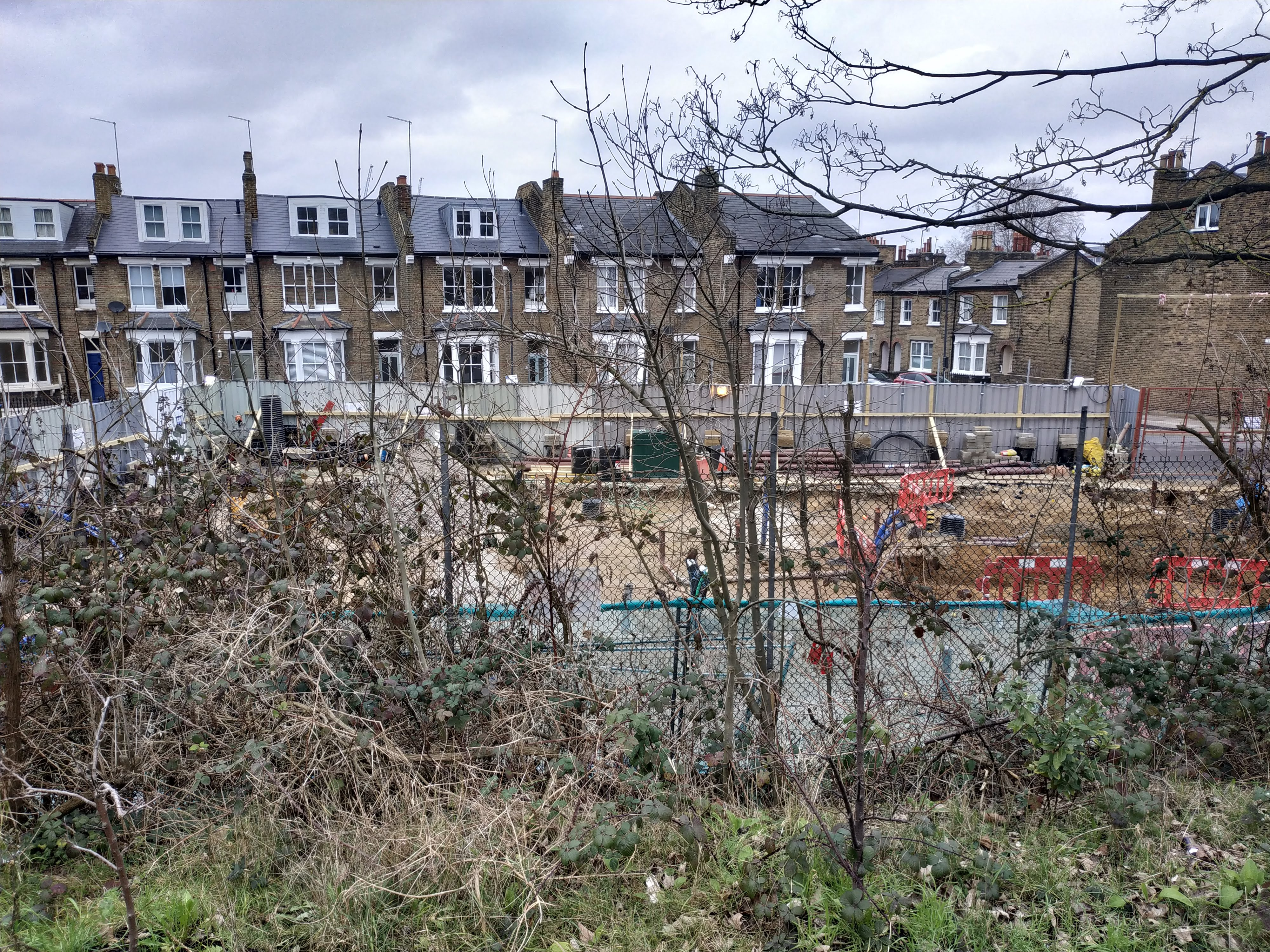 Construction on Greenwich council housing underway