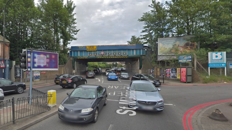 Woman jumps from railway bridge in Lee