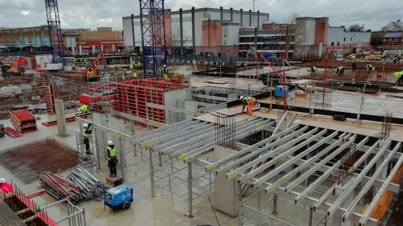 Bexleyheath town centre construction update