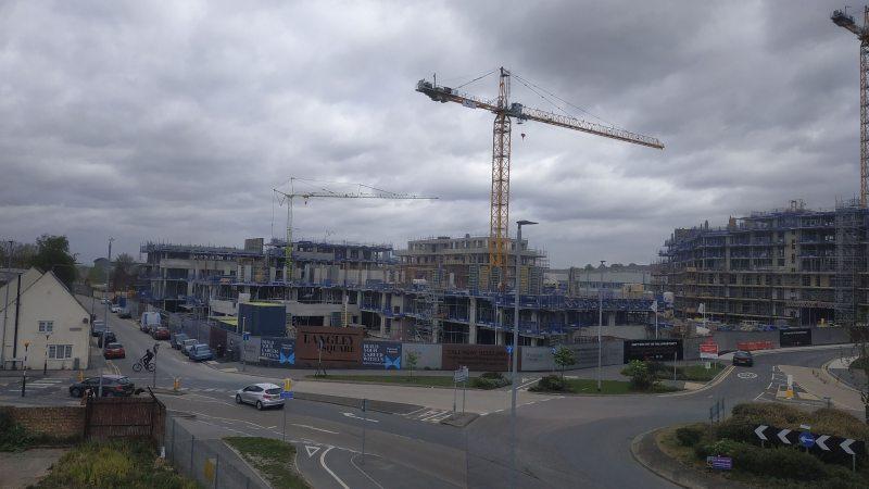New homes keep rising around Dartford