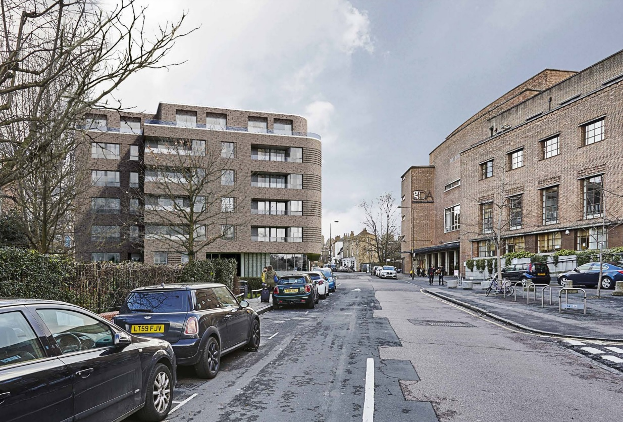 Flats plan at former Greenwich police station submitted