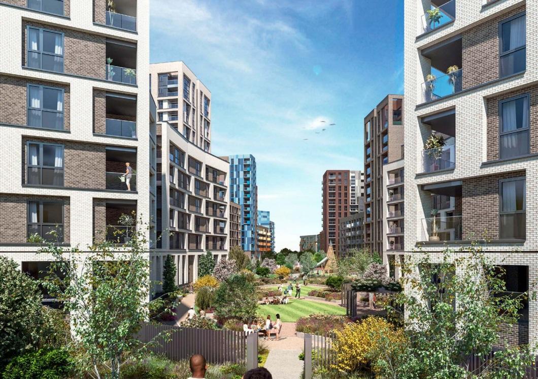 Lewisham estate rebuild: 443 new homes coming near DLR and rail station
