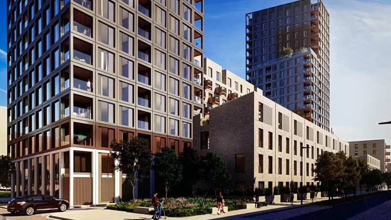 New blocks at Greenwich Peninsula site revealed