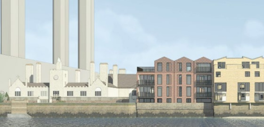 Greenwich riverside spot sees plan for new-build