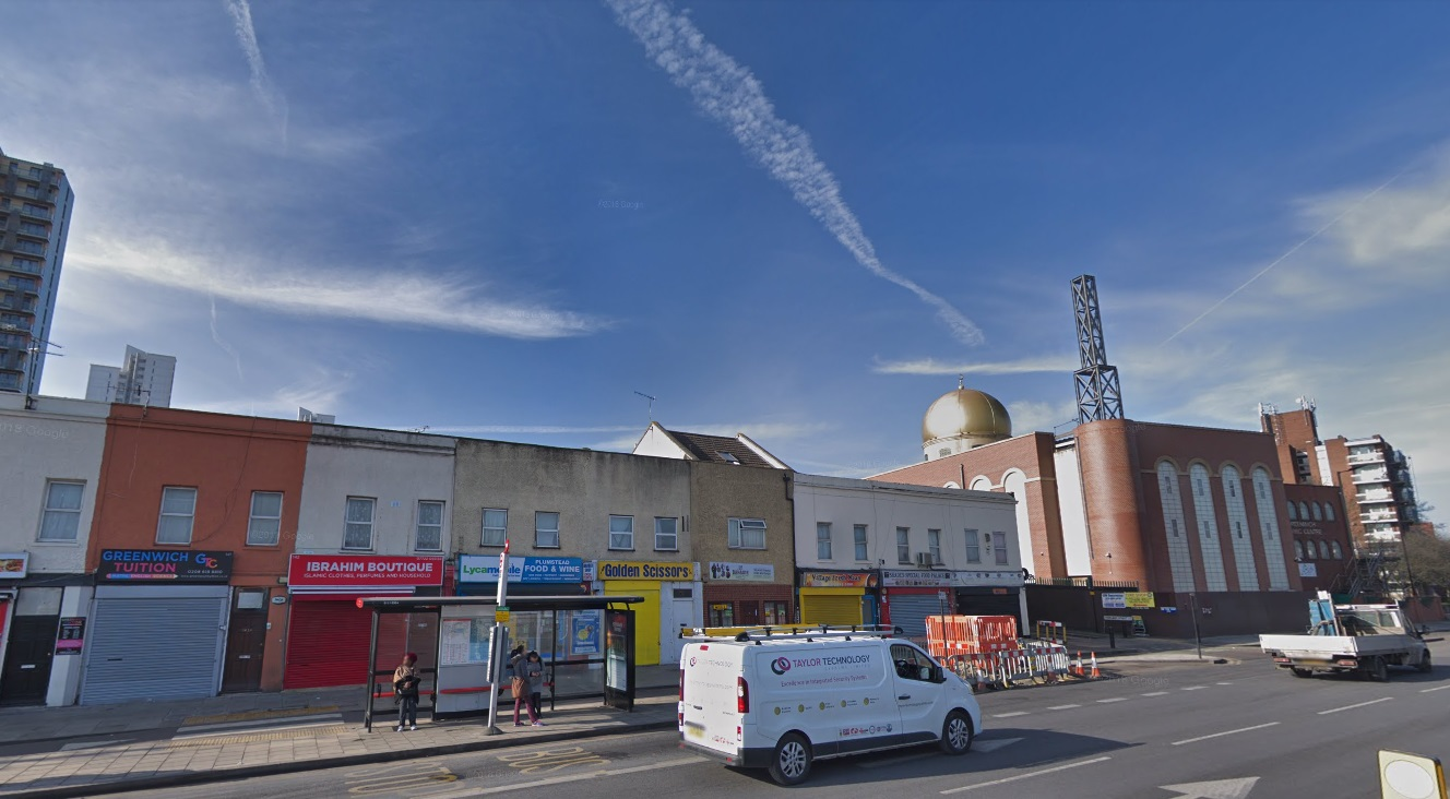 25 flats planned near Plumstead station and Mosque