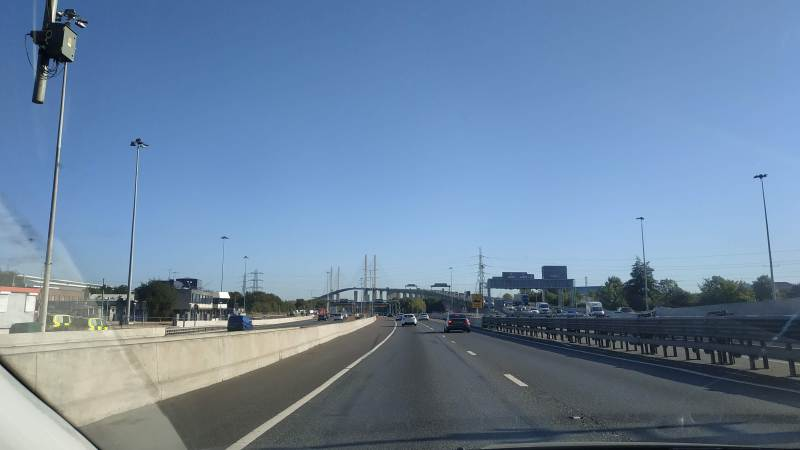 Dartford Crossing partly closed – heavy traffic across much of SE London