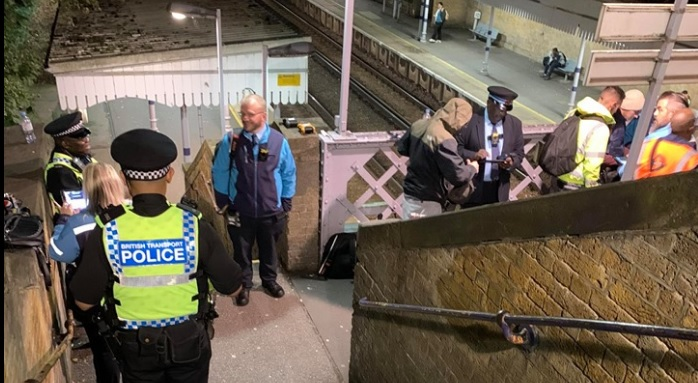 Police launch operation at Plumstead station