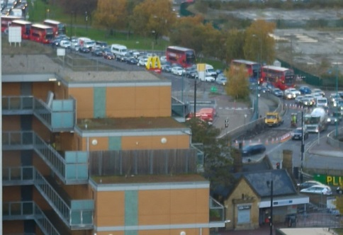 Long queues across Thamesmead and Plumstead after emergency road works