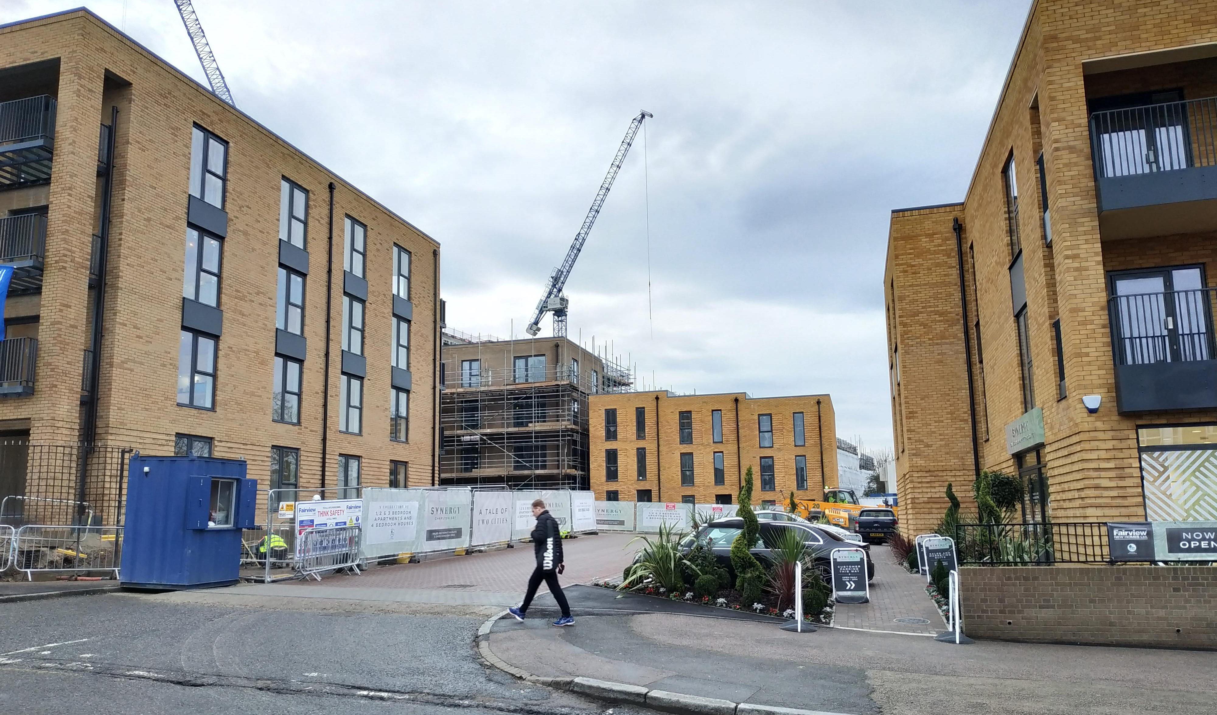 A look at 330 new homes at Victoria Way in Charlton